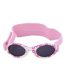 MFS Kids Pink Flames Sunglasses