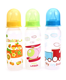 Mee Mee Premium Feeding Bottle Pack Of 3 - 250 Ml Each