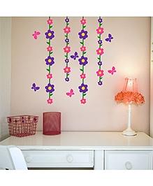 Chipakk Flower & Butterfly Theme - Pink & Purple