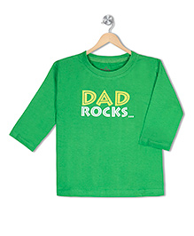 Acute Angle Dad Rocks Toddler Tee