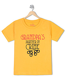 Acute Angle Grandpas Partner Toddler Tee
