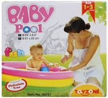 Toyzone Baby Pool 3 Rings 24 X 8.5 Inches