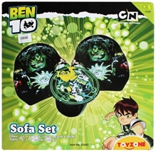 Ben 10 Sofa Set With Chair & Table