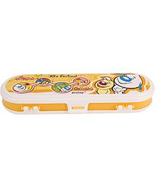 Pratap Pencil Box Hy School Classic - Yellow