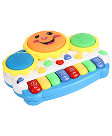 Smiles Creation Electronic Drum With Organ Keyboard