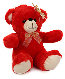 Funzoo Angel Teddy Bear Soft Toy Red - Height 12 Inches