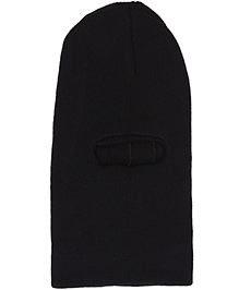 Babyhug Monkey Cap - Black