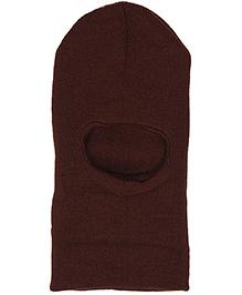 Babyhug Monkey Cap - Dark Brown