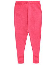 Babyhug Woolen Leggings - Pink