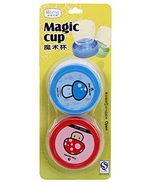 Magic Cups Red And Blue - Pack Of Two