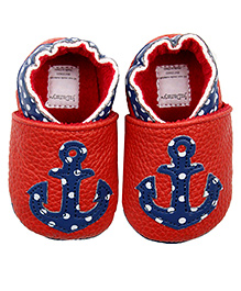 Judanzy Anchors Away Shoes - Red