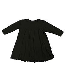 Kickee Pants Basic Long Sleeve Swing Dress - Black