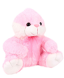 Dimpy Stuff Bunny Soft Toy Pink - Height 16 Inches