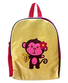Glow Accessories Cream Monkey Backpack
