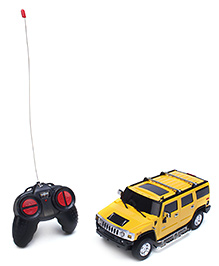 Mitashi Dash Hummer H2 BO Remote Controlled Car - Yellow