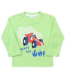 Babyhug Full Sleeves T-Shirt - Green