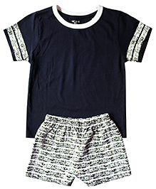 Babys Locker Desert Tee & Shorts Set