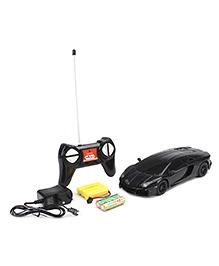 Mitashi Dash Lamborghini Aventador Remote Control Car - Black