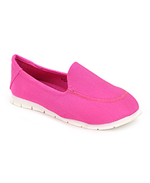 Cute Walk Slip-On Shoes - Rose Pink