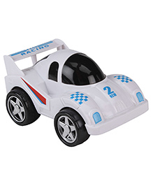 Smiles Creation Friction Racing Car - White