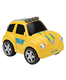 Smiles Creation Friction Car - Yellow