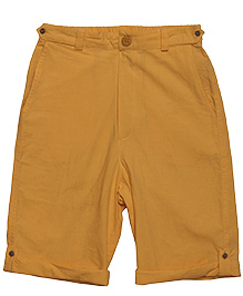 Plain Prakash Shorts - Yellow