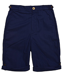 Plain Prakash Shorts - Blue