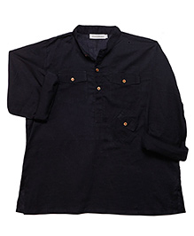 Raya Shirt - Dark Navy