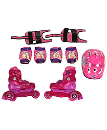 Barbie Skating Protective Set Pack Of 4 - Pink