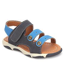 Cute Walk Open Toe Sandals - Blue