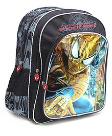 Spiderman Web Hunter Print Backpack Grey - 16 Inches