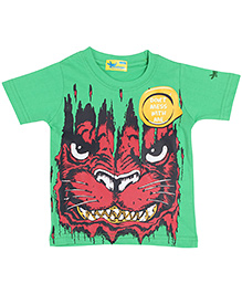 Grasshopper Juniors Glow In Dark T-Shirt Animal Design - Green