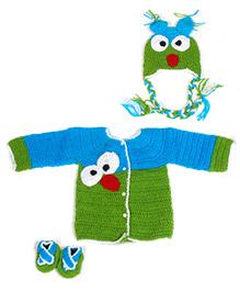 The Original Knit Angry Bird Sweater Set