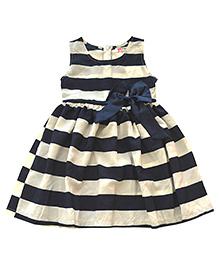 Tiny Closet Navy & White Striped Dress