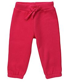 Fox Baby Drawstring Pajama - Fuchsia Pink