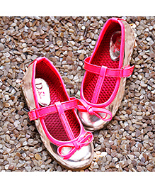 D'chica Shoes Chic Pink And Silver Loafers