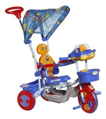 Mee Mee Lets Explore Tricycle with Canopy - Blue