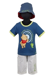 Disney - Winnie The Pooh T-Shirt Pants and Cap Set