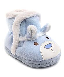 Cute Walk Booties Rabbit Design - Blue