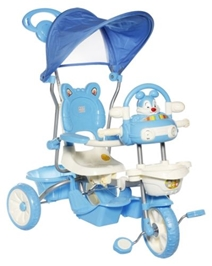 Mee Mee Bubbly Bunny Tricycle - Blue