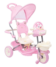 Mee Mee Bubbly Bunny Tricycle - Pink