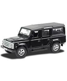 RMZ Die Cast Pull Back Land Rover Defender 110 Car - Black