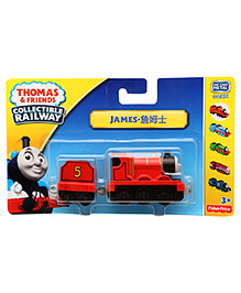 Thomas And Friends Collectible Railway James Train - Red