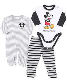 Fox Baby Onesie Footed Romper And Footed Bootie Set - Multicolor