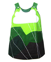 Shu Sam & Smith Sleeveless Floating Cloud Dress - Nature Green