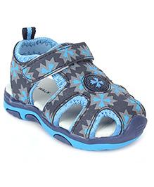 Cute Walk Floater Sandals Printed - Blue