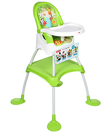 Fisher Price 4 in 1 High Chair Green