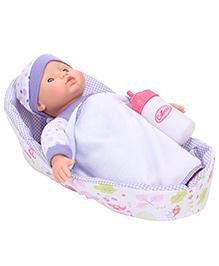 Hamleys Calinou Baby Doll Purple - 24 cm