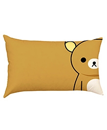 Stybuzz Bear Baby Pillow Cover - Brown