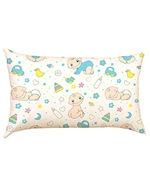 Stybuzz Baby And Toys Baby Pillow Cover - White